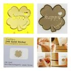 TPD 5pcs x 24K Gold Plated Anti Radiation Block Shield Stickers (Choose Design)