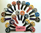 NFL Officially Licensed Football Team Key Blank, Kwikset KW1, 66 $7.49 USD on eBay