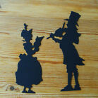 Christmas Die Cuts - Victorian Carol Singer - Invitations - Gifts - Cardmaking