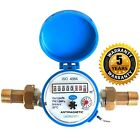 Water meter flow - cold & hot water House and Garden various connectors 2.5m3/h