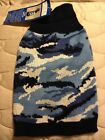 Blue Camouflage Dog Sweater - XXS or XS - Casual Canine - NWT