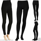 LADIES WOMEN GIRLS TIGHTS WARMING SOFT FLEECE LINED THERMAL THICK WINTER STRETCH for sale  Bolton