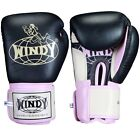 Windy Muay Thai Boxing Gloves Sparring Kickboxing Training Black Red Pink
