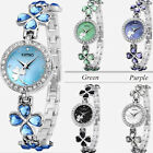 Watch Beautiful Four Leaf Clover Design Stainless Steel Various Colours - New