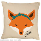 A Lady Fox -  Add your own text choice | Gift | Birthday | Christmas