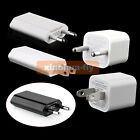 10 pcs US EU USB 5V 1A AC Wall Charger Power Adapter For Cell Phone iPhone iPod