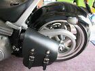 Motorcycle Leather Swing Arm Bag Left or Right Leatherworks 312XL Made in USA