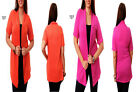 T27 New Womens Short Sleeves Knit Stretch Cardigan Shrug Tops Jacket Plus Size
