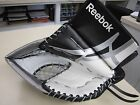Reebok 7000 JR goalie glove (black white silver) Full right