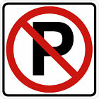 small no parking signs - NO PARKING SIGN Vinyl Decal / Sticker ** 5 Sizes **