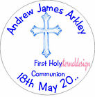 PERSONALISED HOLY COMMUNION ENVELOPE SEALS STICKERS GIFTS FAVOURS INVITES HCS 3