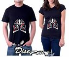 Camiseta Pulmones lungs Anatomia Hombre/Mujer Ropa T-Shirt