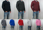 NWT Abercrombie & Fitch Men Muscle Fit Morgan Mountain V Neck Sweater Sweatshirt