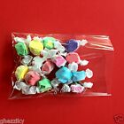 100 Super Clear Poly Bakery Cello Candy Bag Cookie Flat Polypropylene favor Bags