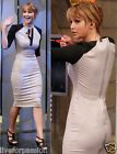 CN_New Womens Simple Long Sleeves Sexy Wiggle Midi Party Pencil Dress -D635