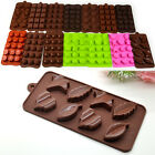 Ice Jelly Candy Pudding Mold DIY Chocolate Cake Muffin Soap Mould Silicone Gift