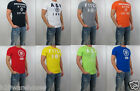 NWT Abercrombie & Fitch A&F Men Muscle Fit Connery Pond Embroidered Tee T Shirt