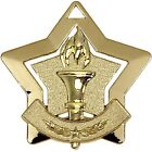 AM716 MINI STAR TORCH METAL MEDAL AND FREE RIBBON
