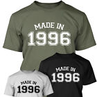 MADE IN 1996 - Mens Age 18 Year Of Birth T Shirt