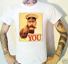 Your Country Needs You T-Shirt  WW1 Centenary Lord Kitchener World War One