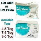 Top Quality Anti-Allergy Toddler Baby Cot Bed Duvet Quilt  4.5 7.5 and 9 Tog