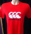 MensT Shirt ccc Rugby Union Cotton  RED colour  2XL  Black Print on Chest New