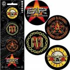 ANTHRAX red hot chili peppers HIM rob zombie GUNS N ROSES - OFFICIAL BADGE PACK