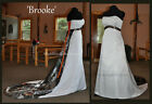 NEW Camo Wedding Dress/Gown- Empire Waist 'Brooke' ***Custom made in the USA***