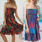 Sexy Ladies Soft  Bikini Cover Up Sundress Tube Beach Dress Skirt sw018