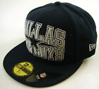 New Era Cap 59Fifty Dallas Cowboys NFL Logo Stack Blue/Grey Fitted Hat NY