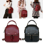 3 in 1 New Ladies Faux Leather Tote Handbag Shoulder Satchel Bag School Backpack