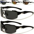 MEN POLARIZED SPORT SUNGLASSES LARGE WRAP POLARISED RUNNING FISHING CYCLING GOLF