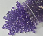 350 x Translucent Acrylic Bicone Beads Various Colours 6mm - Bargain!!