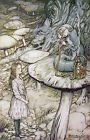 Arthur Rackham ALICE IN WONDERLAND Ref 05 PRINT A4 or A5 Size Unframed