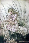 Arthur Rackham ALICE IN WONDERLAND Ref 07 PRINT A4 or A5 Size Unframed