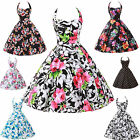 2014 New HOT SALE Retro Swing Flower Ball Cocktail Party Prom Rockabilly Dresses