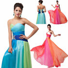 2014 New Women Girl Sexy Long Gown Cocktail Prom Party Evening Bridesmaid Dress