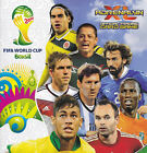 NEW PANINI ADRENALYN XL FIFA 2014 WORLD CUP LIMITED EDITION DOUBLE TROUBLE CARDS