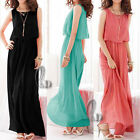 Sexy Chiffon Cocktail Party Formal Evening Maxi Dress AU SELLER dr051