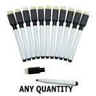Magnetic Dry Wipe White Board Markers with Built in Eraser. UK Based Seller. NEW