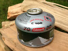 MULTIBUY Coleman C100 Self Sealing Reusable 70% Butane 30% Propane Camping Gas
