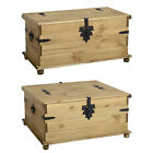 Corona Storage Chest Available In Single Or Double - Mexican Waxed Pine