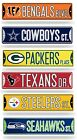 "NFL Football Bling Street Sign 3.75"" x 16"" (Glitter) - Pick Team $3.15 USD on eBay"