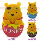 3D Winnie the Pooh Soft Silicone Case Cover Skin for Apple iPhone 5 5S 5C NEW
