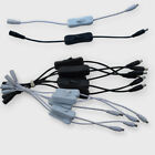 5.5 x 2.1mm M&F DC 12V/24V With Power Switch Cable For 5050/3528/5630 LED Strip