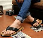 HOT Celebrity Casual Mens Beach Comfy Flip Flops Slides Thongs Sandals Slippers
