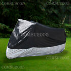 Various Sizes Waterproof Motorcycle Motorbike Cover Oxford Polyester Fabric
