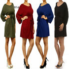 D16 New Womens Evening Cocktail Party Spring Work Office Chic Knit Dress Plus