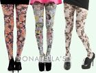 plus size PATTERNED TIGHTS 20 22 24 26 28 retro prints pantyhose 1xl 2xl 3xl 3x