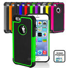 Heavy Duty Shockproof Case Cover Defender Armour For Apple iPhone 4 4S 5 5S 5C